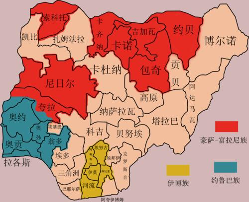 尼日利亚行政区划