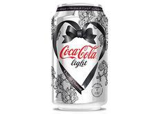可口可乐情人节限量款包装